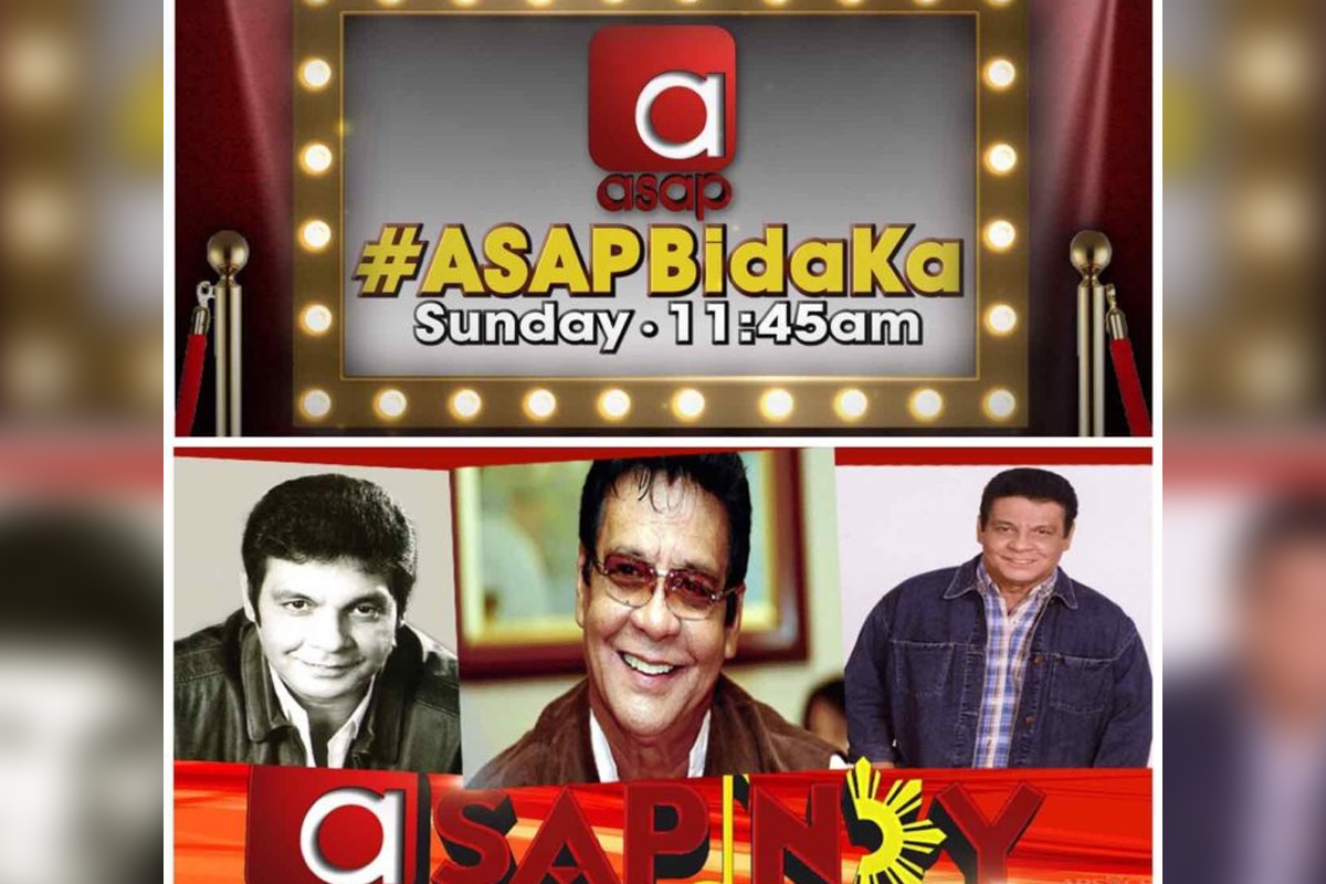 """ASAP"" pays tribute to 'Da King' Fernando Poe Jr. this Sunday"