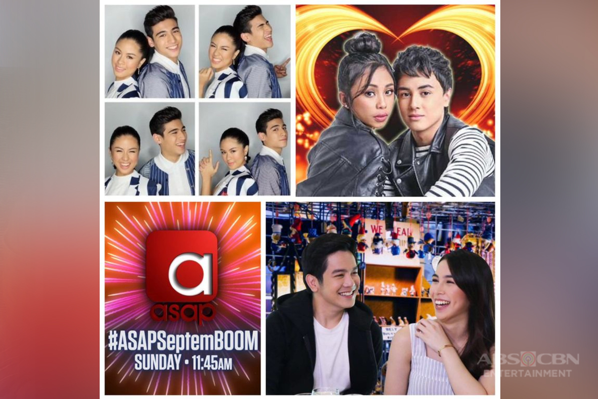 "Feel the love with MayWard, KissMarc, and JoshLia this Sunday on ""ASAP"""
