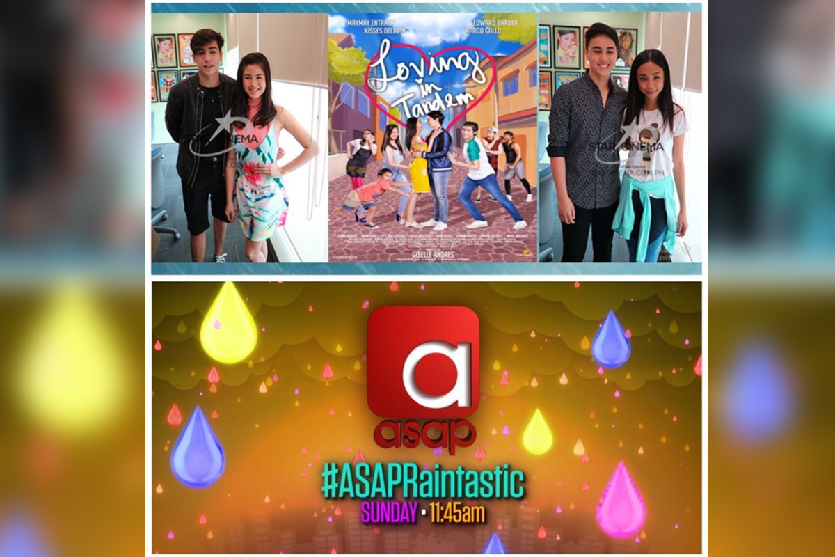 """Loving in Tandem"" and ""The Voice Teens"" headline ""ASAP"" this Sunday"