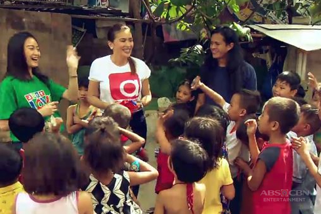 Kapamilya stars share love and joy through