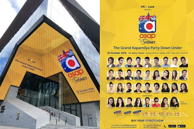 """ASAP Live in Sydney"" promises to be the biggest Filipino musical spectacle in Australia"