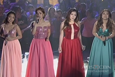 Angeline, Jona, Klarisse and Morissette in a throwback biritan of the 2000s on ASAP Birit Queens