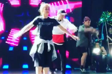 WATCH: Maja's trending ASAP rehearsal video