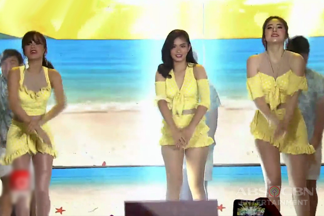 Janella, Loisa & Maris show hot moves on the ASAP stage