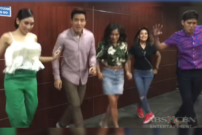 WATCH: ASAP Stars Sarah, Robi, Yeng, Erik & Kyla's version of #InMyFeelingsDanceChallenge