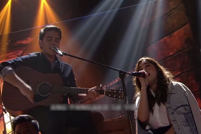 Moira Dela Torre performs with fiance on ASAP Jambayan