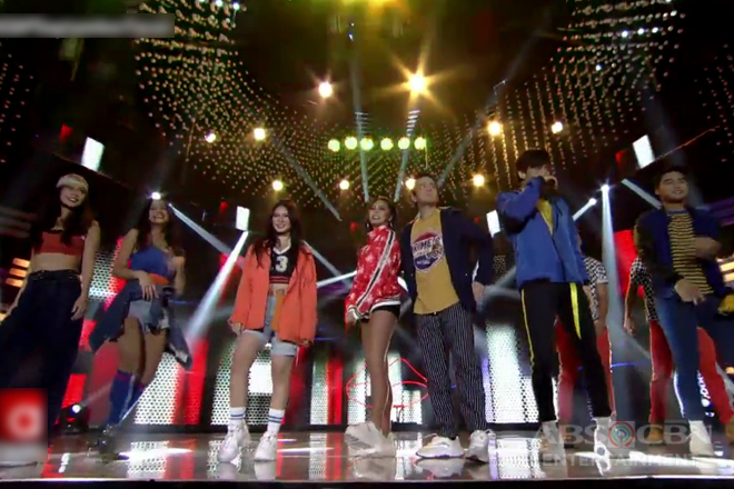 Kim, Loisa, Ronnie, Joshua, Maris, McCoy & Ylona groove to the latest dance craze 'Scooby Doo Papa'