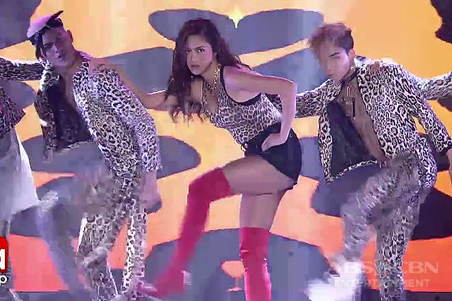 Kim Chiu combines sexy and swag in one prod!
