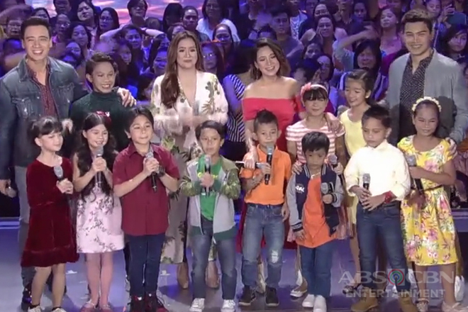 FPJ's Ang Probinsyano kids perform with ASAP singers