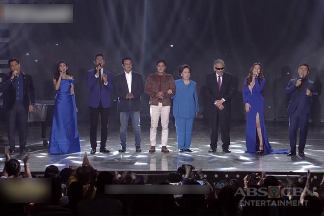 OPM Music Icons Gary V, Ogie, Sarah G, Angeline & Martin perform FPJ Ang Probinsyano's theme song on ASAP