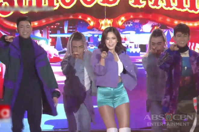 Kim Chiu, Darren Espanto and Inigo Pascual lead the dance party on ASAP!