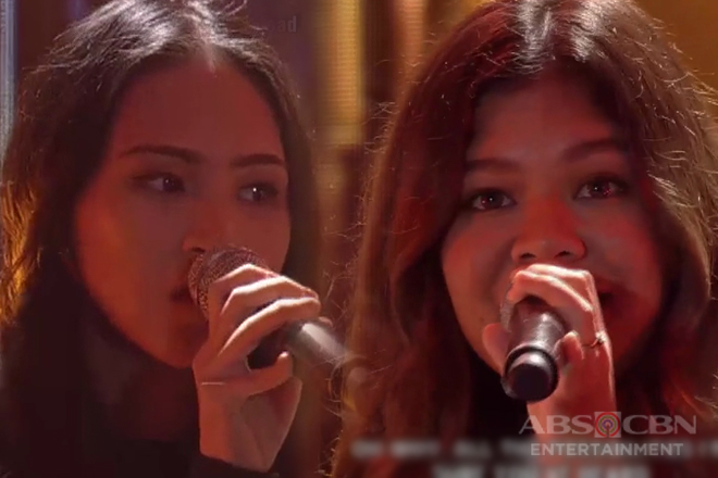 Up & coming OPM artists Renee Dominique & Clara Benin jam with ASAP Jambayan