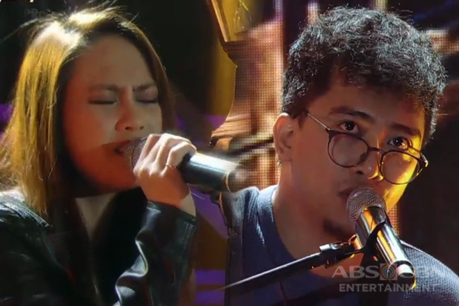 Band vocalists Eunice Jorge & Sud Ballecer jam with ASAP Jambayan