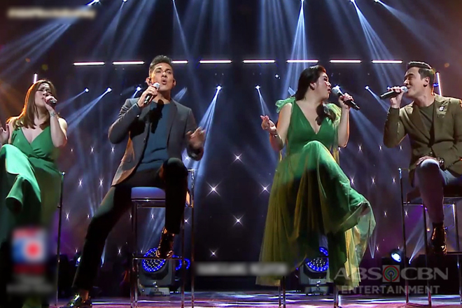 Regine Velasquez joins Gary V., Erik and Angeline in a powerful vocal treat