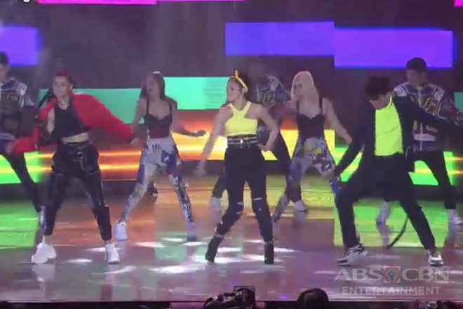 Liza Soberano, Kim Chiu and Inigo Pascual dance to the beat of 'Idol'