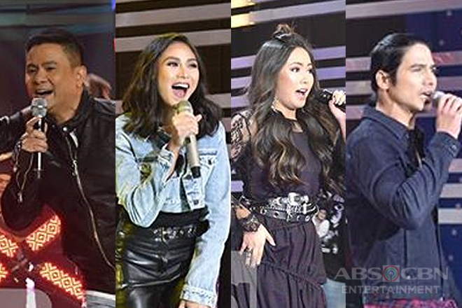 90's OPM Hitmakers together with Sarah, Yeng, Ogie & Piolo in a rocktastic opening number