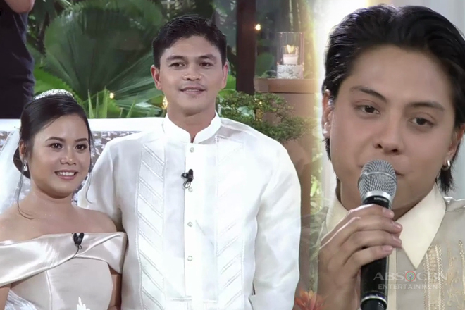 Daniel Padilla turns into a wedding singer and we can't help but feel 'kilig'!