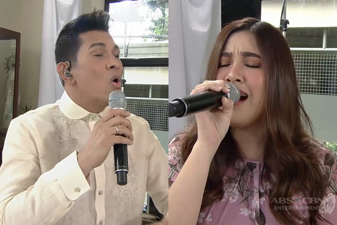 Gary V & Moira perform live as wedding singers