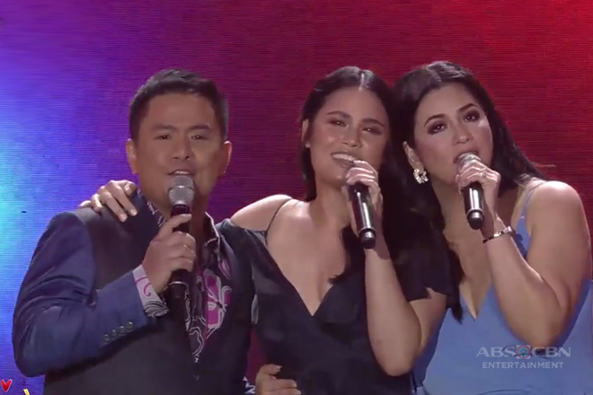 Ogie, Regine and Leila Alcasid's rendition of