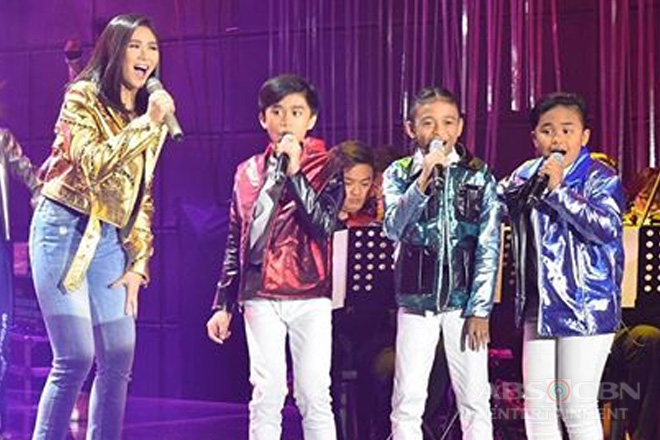 The TNT Boys' first collab with Popstar Royalty Sarah Geronimo!