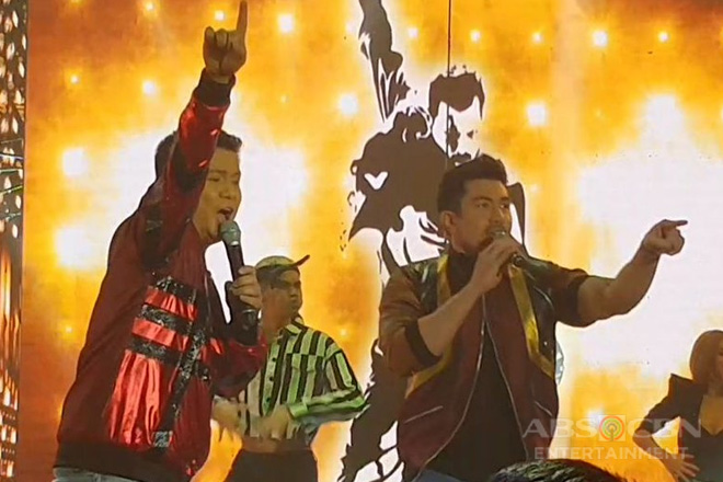 Watch how Luis confidently rocked the ASAP Natin 'To stage with Ogie