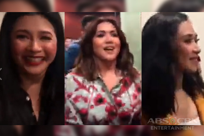 WATCH: Angeline Quinto, sobrang happy sa birthday surprise ng kanyang ASAP Natin 'To family