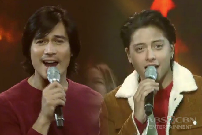 Daniel Padilla and Piolo Pascual's carolling filled with 'kilig' on ASAP!