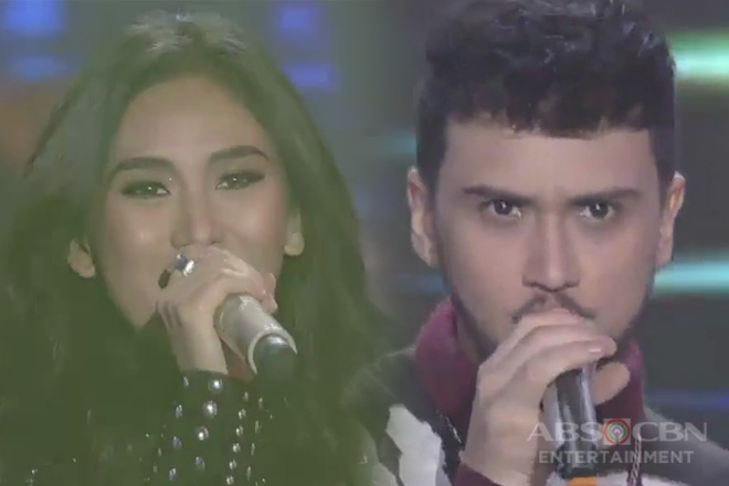 Sarah G. and Billy Crawford rock and roll on the ASAP Natin 'To stage!