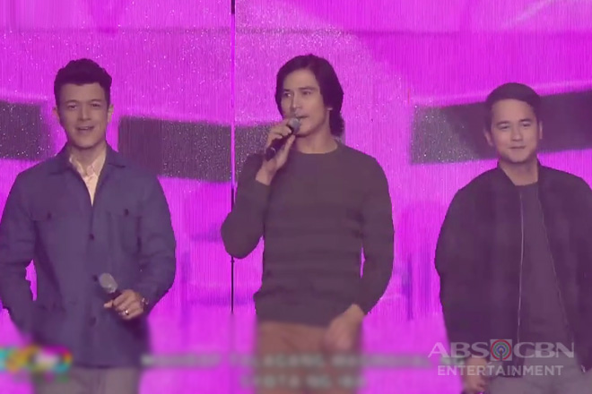 Piolo Pascual, Jericho Rosales and JM De Guzman will bring back Valentine's Day with their voices!