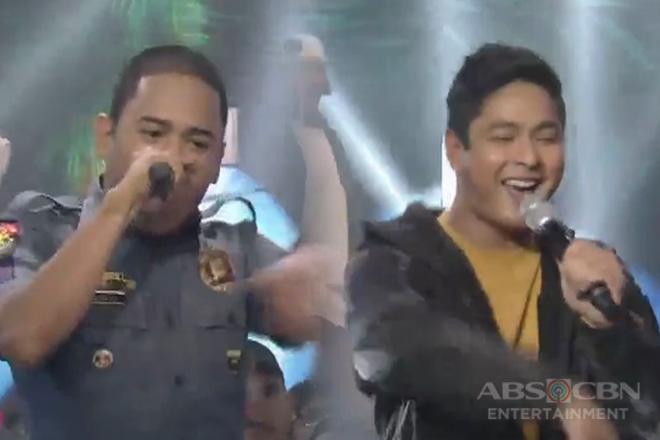Rapper policeman joins Cardo Dalisay in an astig number!