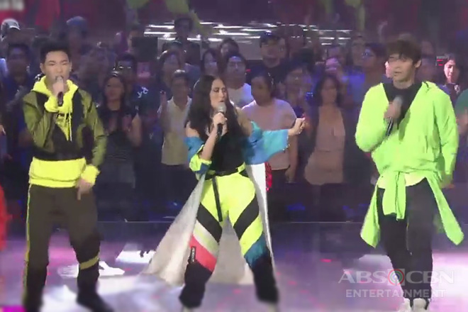 Sarah G, Inigo & Darren's all-out song and dance collaboration on ASAP Natin 'To