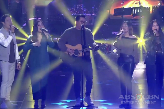 Lucky fan jams with December Avenue and Moira!