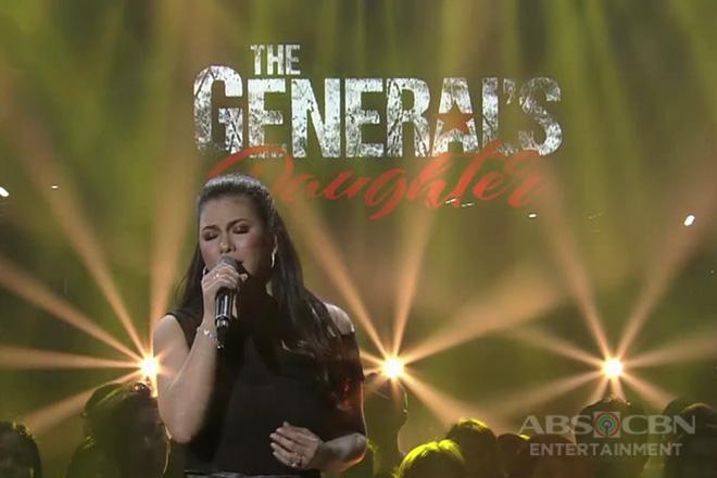 """Regine Velasquez sings """"The General's Daughter"""" OST 'Ikaw Ang Aking Mahal'"""