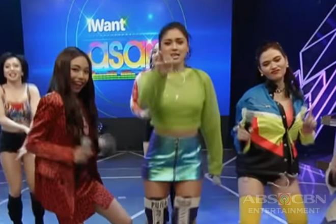 iWant ASAP: Kim, Bela at Maymay, humataw kasama ang Sexbomb!