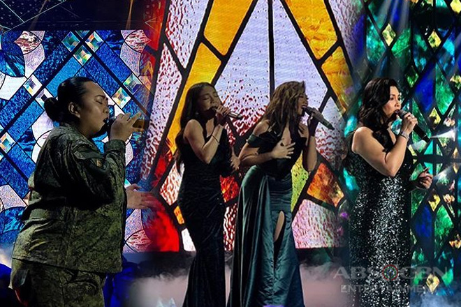 General Verna Lisa gets a chance to sing with the Kapamilya divas on ASAP Natin 'To