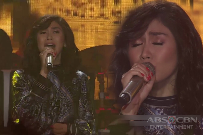 Sarah G's rendition of