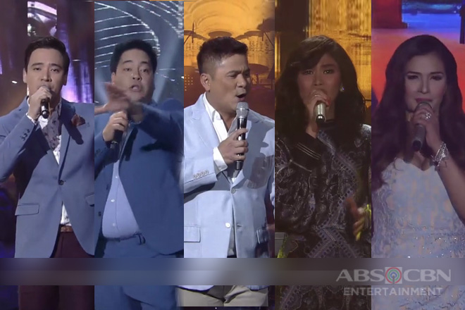 The battle of vocal powers on ASAP Natin 'To's The Greatest Showdown