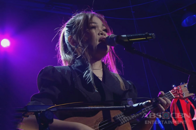 iWant ASAP Concert: Janine Berdin performs her soulful rendition of IV of Spades' Mundo