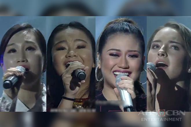 Morissette Amon sings