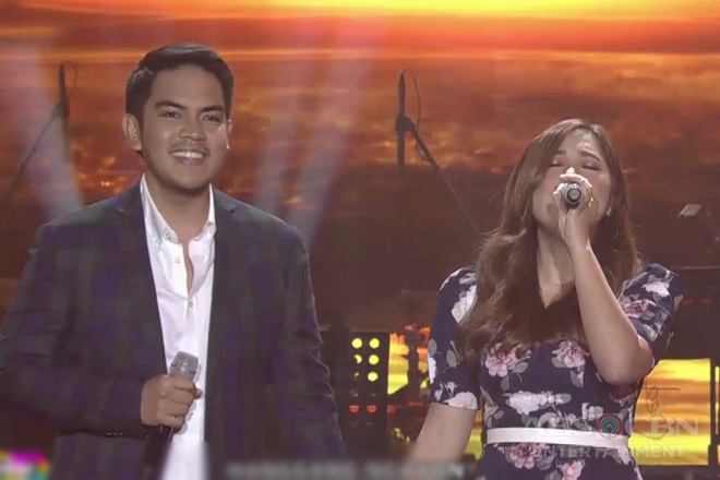 Newlyweds Moira and Jason Hernandez sing their new single 'Ikaw at Ako' on ASAP Natin 'To!