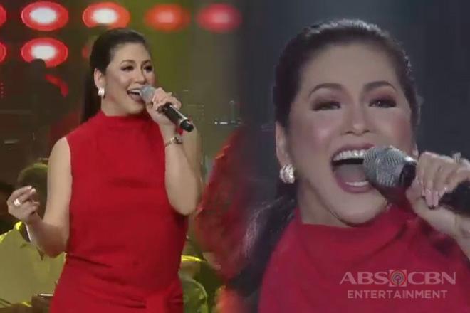 "Asia's Songbird Regine Velasquez ""Let The Joy Rise"" on the ASAP stage!"