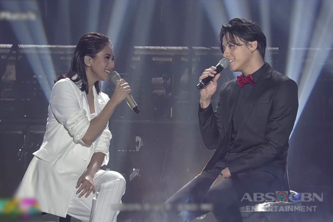 "Sarah G and Daniel Padilla sing the songs from the classic movie ""Breakfast at Tiffany's"""