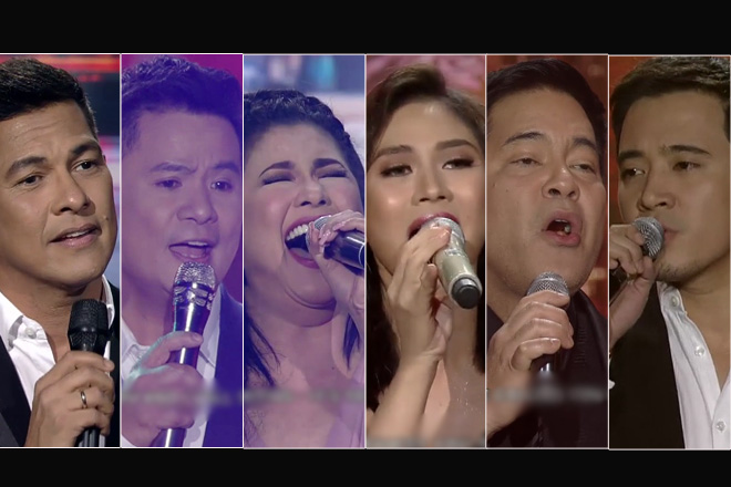 Kapamilya singing icons give a different take on your favorite love songs on The Greatest Showdown