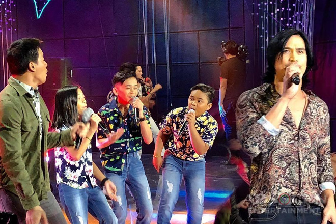 Kapamilya singing icons in a 'Super Fiesta' opening on ASAP Natin 'To