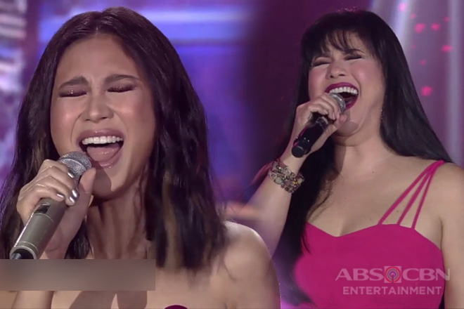 Maria Sofia Love's first TV guesting only on ASAP20