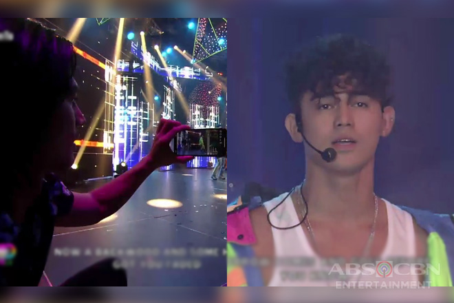 "WATCH: Piolo Pascual's stage father moment during Iñigo's ""Beautiful"" performance"