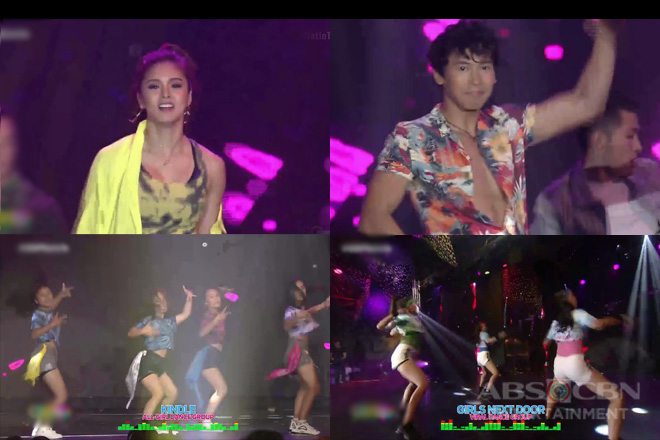 Kapamilya dance idols do the Banana dance challenge with the viral girl group Girls Next Door & Kindle