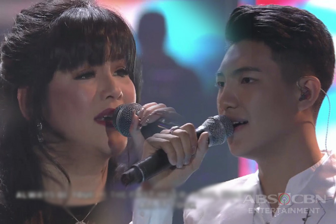 The amazing collaboration of Regine Velasquez and Darren Espanto
