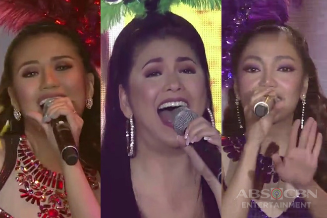 Regine, Morissette, Jona will take you to the 'Moulin Rouge' in their sizzling 'Lady Marmalade' performance!