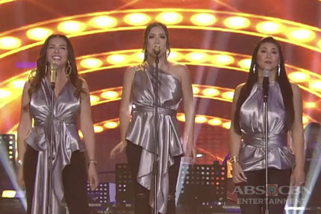 Regine, Angeline and Zsa Zsa turn into 'Dreamgirls' on ASAP Natin 'To!